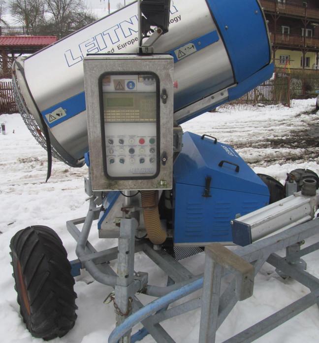 Armatki śnieżne - wyciąg narciarski Partecznik Wisła.